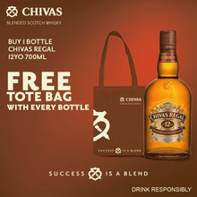 Load image into Gallery viewer, Chivas Regal 12 Year Old 700ml