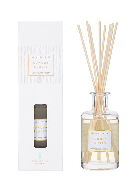 Luxury Series Scent Diffuser - Coconut Lime Verbena