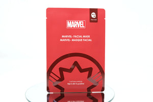 Marvel- Facial Mask (Captain Marvel)-1 piece