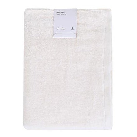 Zero-twist Bath Towel(Yellow)