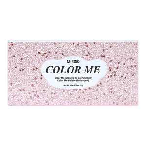 Color Me-Glowing to go Palette#2