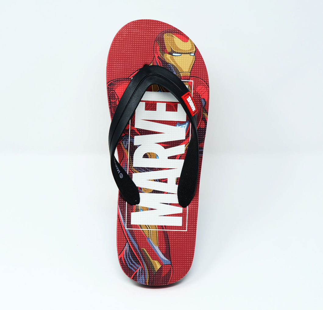 MARVEL- Iron Man Mens Flip Flops