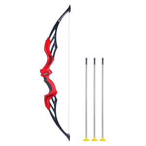 MINISO Kids Bow and Arrows, Sport Archery Bow and Arrow Shooting Toy Set for Boys Girls