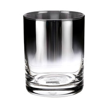 Load image into Gallery viewer, Gradient glass straight short cup-350ml (black)
