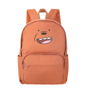 We Bare Bears Backpack (Brown)