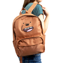 Load image into Gallery viewer, We Bare Bears Backpack (Brown)
