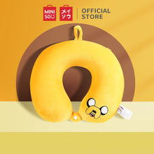 Load image into Gallery viewer, MINISO U-shaped Neck Pillow for Travel Flight & Office - Adventure Time (Yellow)