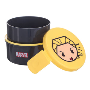 MINISO MARVEL Bento Box Double-layered, Captain Marvel