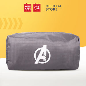 Marvel Portable Zippered Cosmetic Bag, Grey