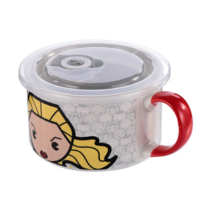 Marvel Food Container 22oz - Captain Marvel