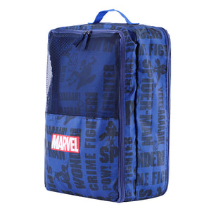 MINISO Marvel Waterproof Travelling Shoe Storage Bag, Footwear Organiser Pouch Portable Shoes Storage Bag