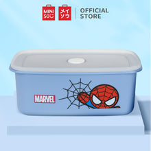 Load image into Gallery viewer, MINISO Marvel Food Container 32oz, Plastic Cartoon Storage Box for Kids Adults BPA-FREE - Spider Man
