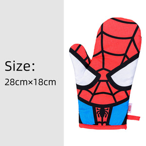Marvel Oven Mitt and Potholder Set - Spider Man