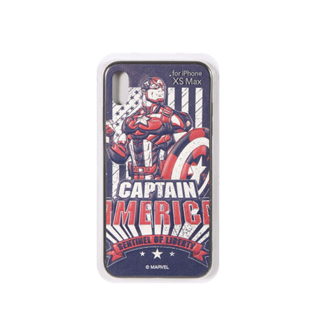 Marvel 3D Phone Case for iPhone  XS MAX - Captain America