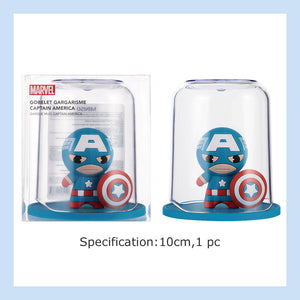 MINISO Marvel Color Gargle Wash Cup Toothbrush Holder Mug, Captain America