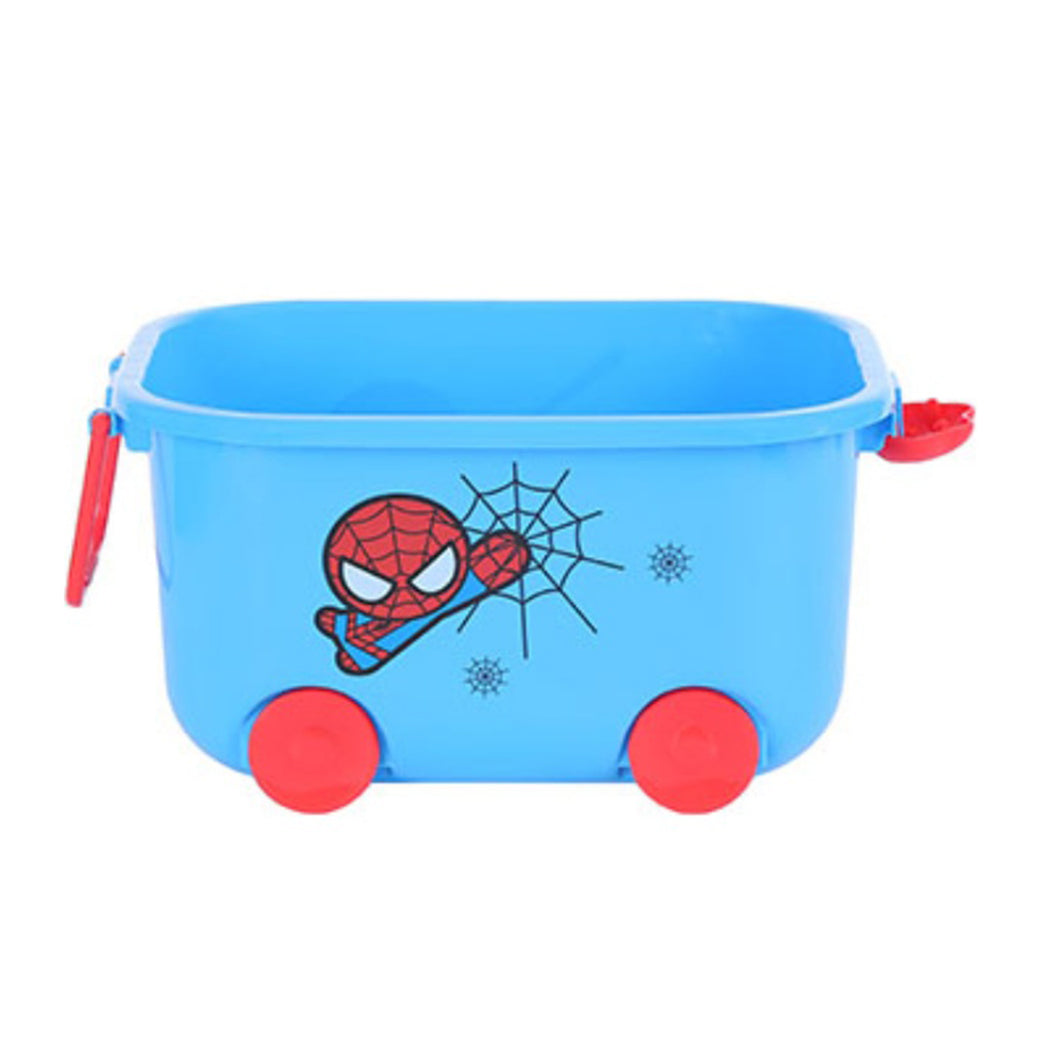 MARVEL Storage Organizer Small with Wheels, Blue