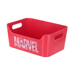 Marvel Plastic Organizer Storage Box Square