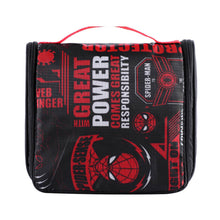 Load image into Gallery viewer, Marvel Foldable Portable Toiletry Organizer Bags - Spider Man