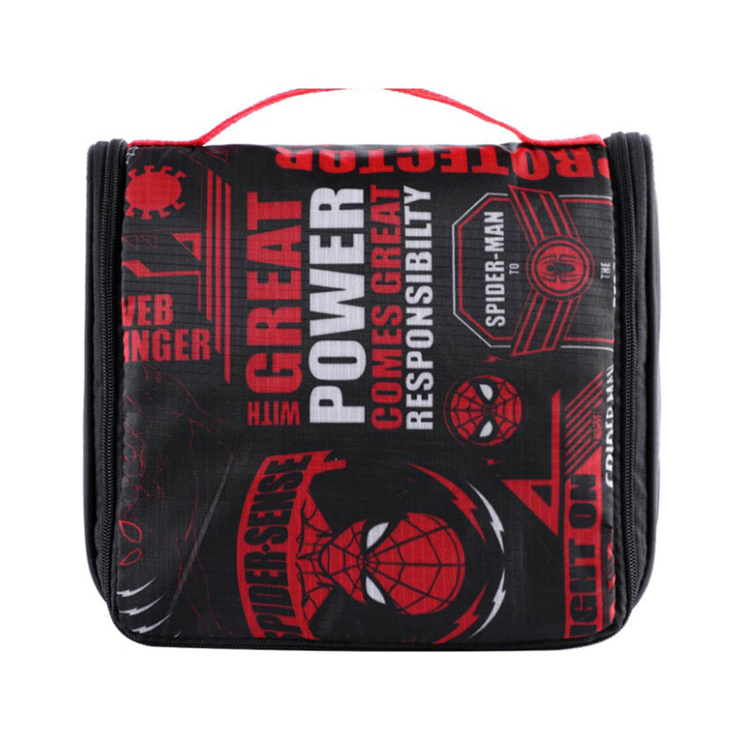 Marvel Foldable Portable Toiletry Organizer Bags - Spider Man
