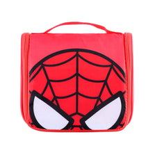 Load image into Gallery viewer, MINISO Marvel Foldable Portable Toiletry Organizer Bags Waterproof Cosmetic Pouch - Comics Red