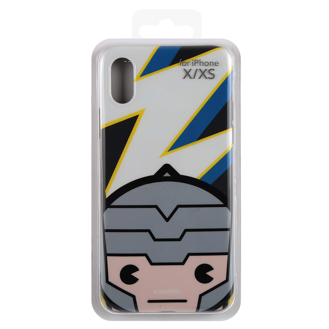 MINISO Marvel TPU Phone Case for iPhone X / XS, Cute Shockproof Protective Case Cover