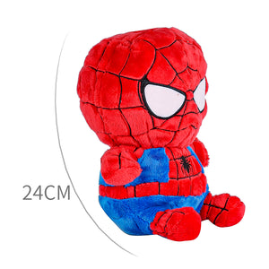 Marvel Plush Spiderman, Red/Blue