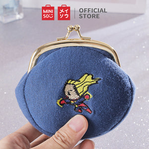 MINISO MARVEL Coin Purse Cute Small Coin Pouch,Captain Marvel