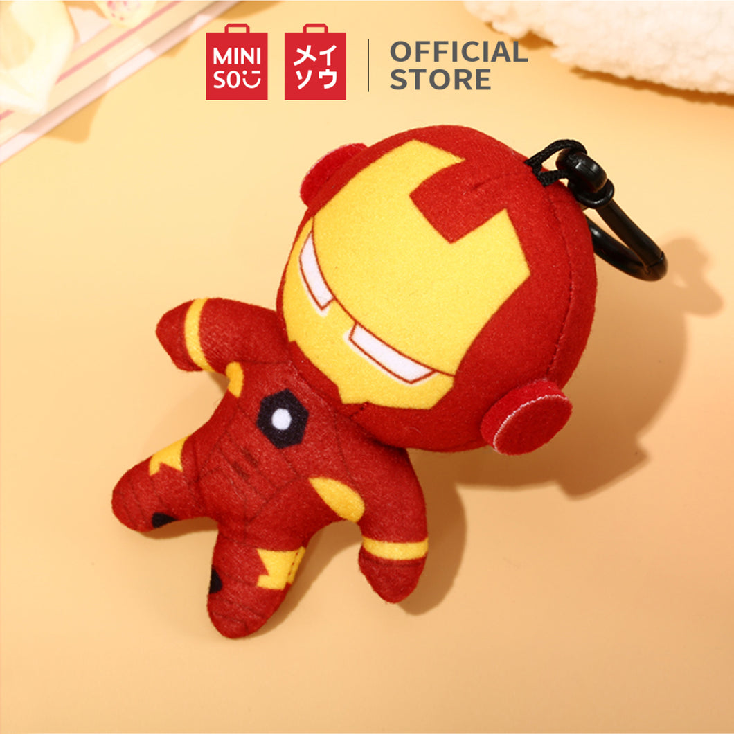 MINSIO Marvel Cute Plush Charm Keychain 4.7