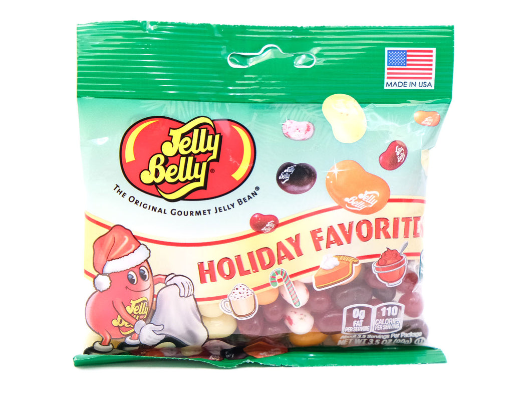 JELLY BELLY, Christmas Holiday Favorites, 3.5oz