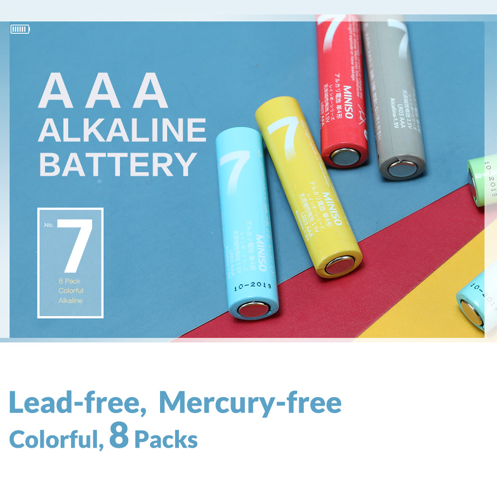 AAA Alkaline Battery 8 Pack