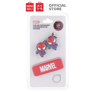 Marvel Car Air Freshener for Vehicle Vent Clip, Spiderman 2PCS