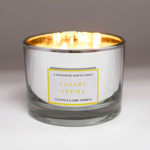 Luxury Series 3-candlewick Scented Candle