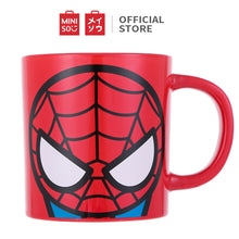 Load image into Gallery viewer, MINISO Marvel Cute Ceramic Mug 13oz for Coffee & Tea, Porcelain Cup - Spider-man