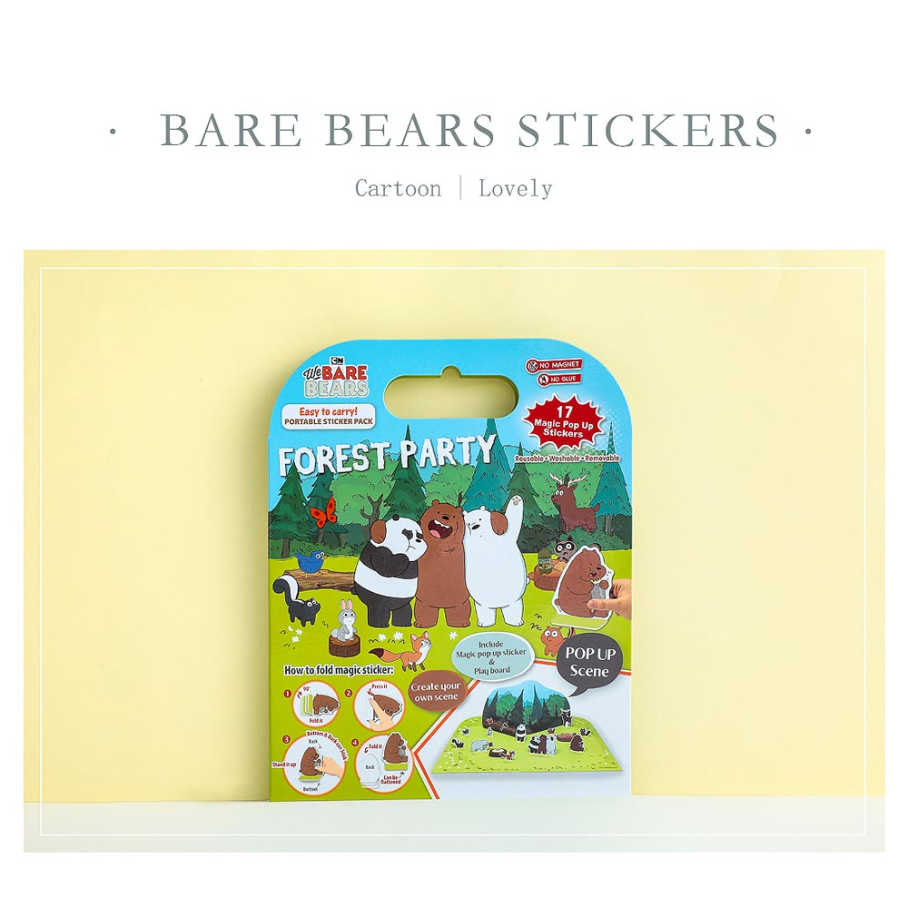 We Bare Bears Interactive Story Book