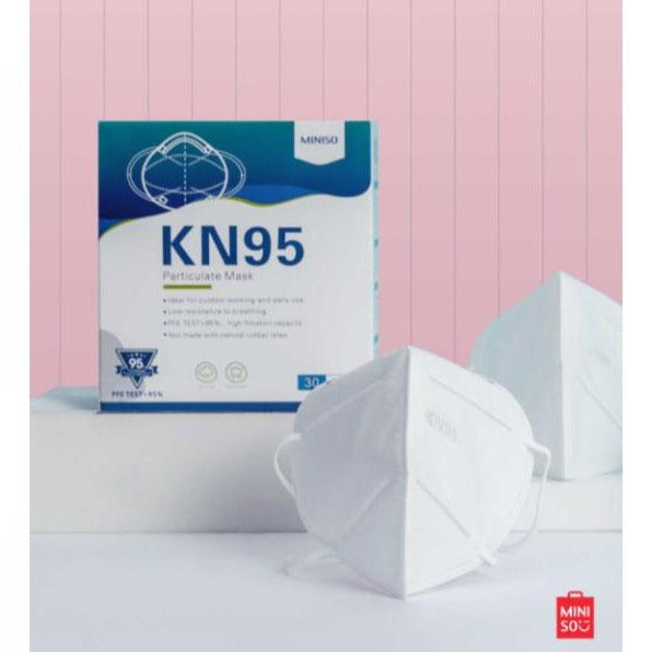 KN95 Protection Face Mask Covering 30PCS, 95% Particulate Filter