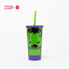 Marvel Tumbler with Straw - Hulk