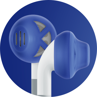 ES1 for earbuds / Blue