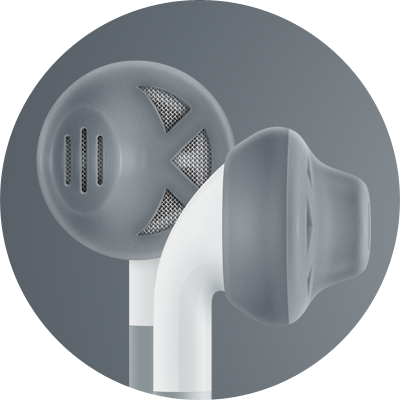 ES1 for earbuds / Charcoal