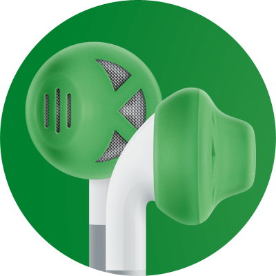 ES1 for earbuds / Green