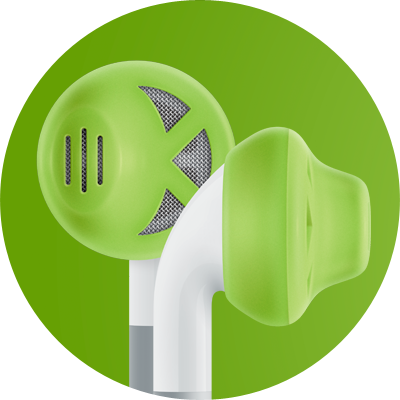 ES1 for earbuds / Lime