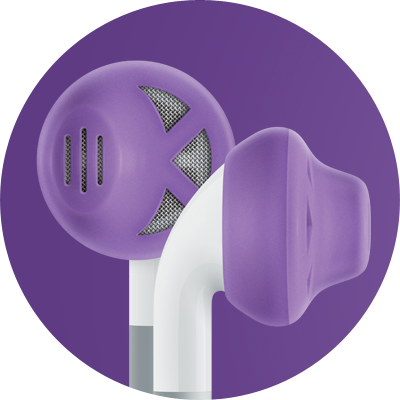 ES1 for earbuds / Purple