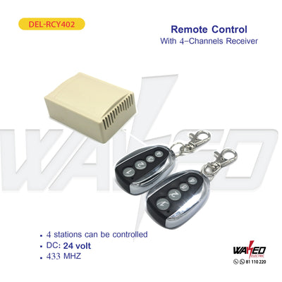 Remote Control - With 4 Channel Receiver