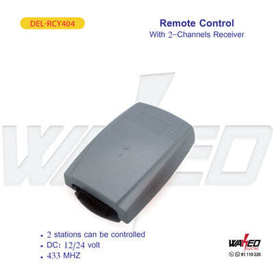 Remote Control - With 2 Channel Receiver