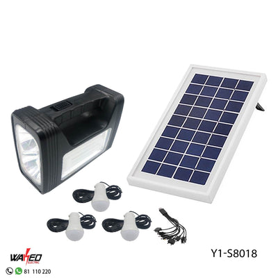 Multi Functional Solar Emergency System