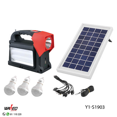 Solar Power Lighting System with Radio