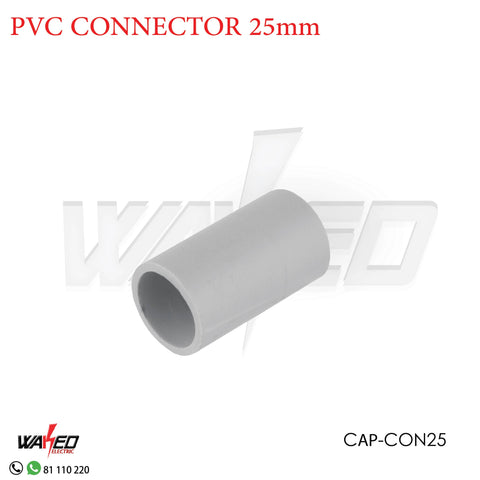 PVC Connector - 25mm