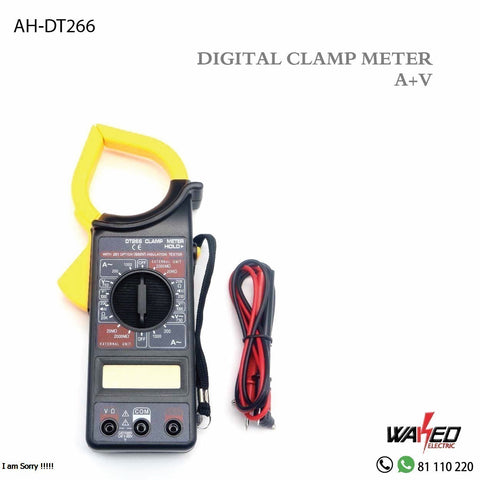 Digital Clamp Meter - AMP- VOLT