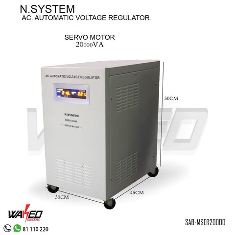 Automatic Voltage Regulator - 20000VA -N.SYSTEM