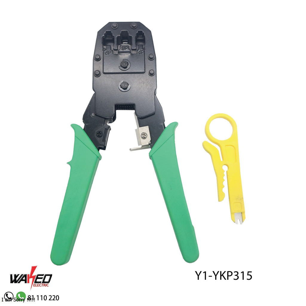 Network Crimping Pliers - 3 in 1