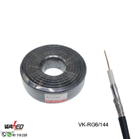 Coxial Cable - RG6 - 100Y